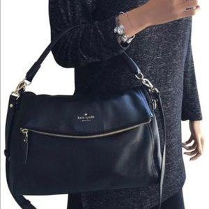 Kate Spade Black pebble MINKA purse
